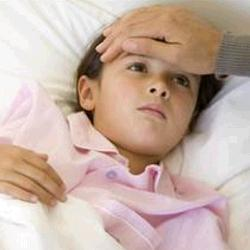 ребенок больной гриппом